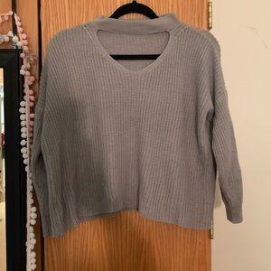 Cutout sweater!